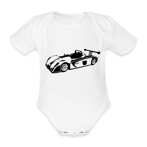 Westfield Race - Organic Short-sleeved Baby Bodysuit