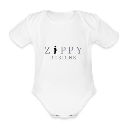ZIPPY 2 - Body orgánico de manga corta para bebé