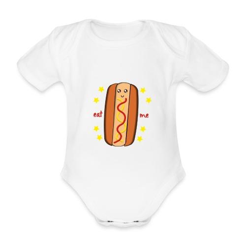 hotdog - Body Bébé bio manches courtes