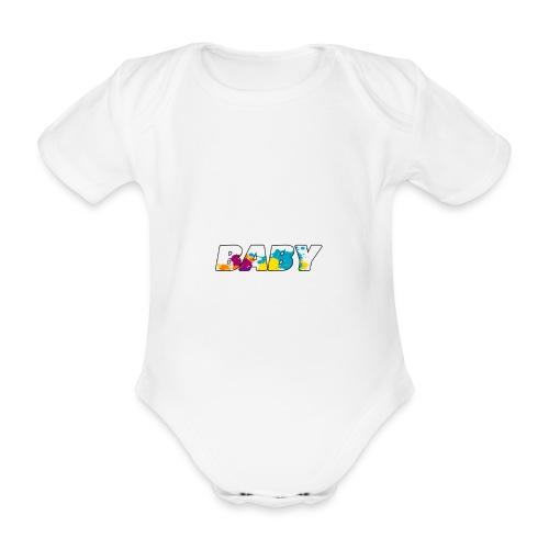LOGO BABY GARCON - Body bébé bio manches courtes