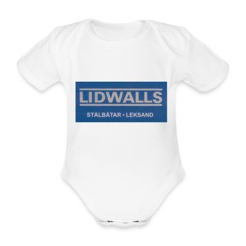 Lidwalls Stålbåtar - Ekologisk kortärmad babybody