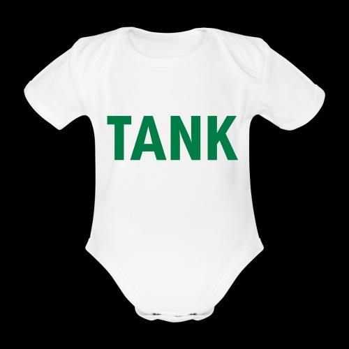 tank - Baby bio-rompertje met korte mouwen