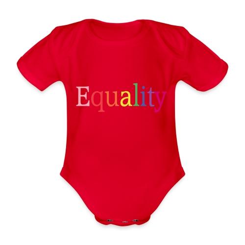 Equality | Regenbogen | LGBT | Proud - Baby Bio-Kurzarm-Body
