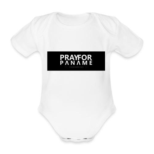 TEE-SHIRT HOMME - PRAY FOR PANAME - Body Bébé bio manches courtes