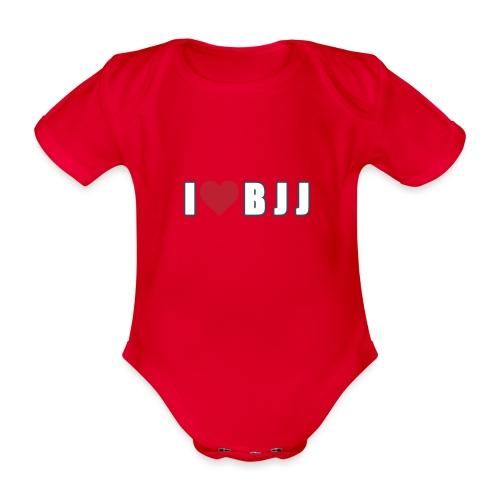 i love bjj - Ekologiczne body niemowlęce z krótkim rękawem