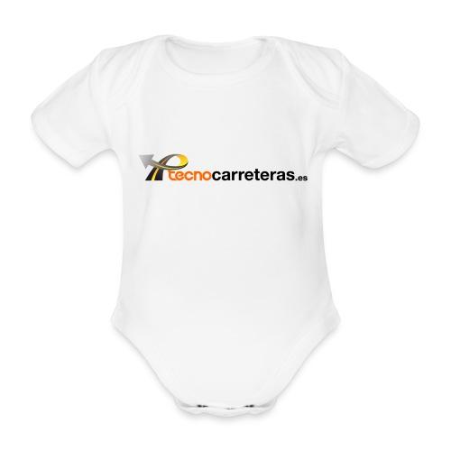 Tecnocarreteras - Body orgánico de maga corta para bebé