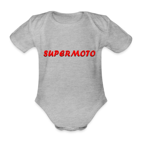 SupermotoLuvan - Ekologisk kortärmad babybody