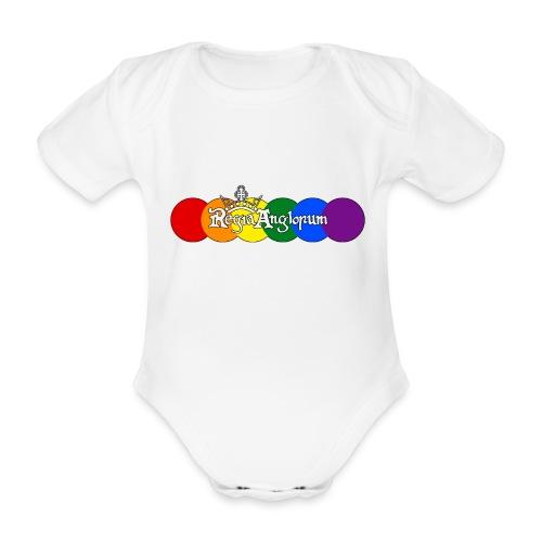 Pride Rounds - Organic Short-sleeved Baby Bodysuit