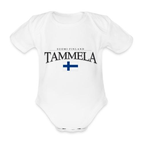 Suomipaita - Tammela Suomi Finland - Vauvan lyhythihainen luomu-body