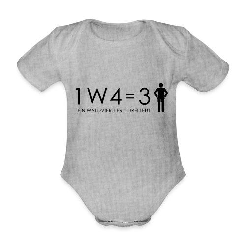 1W4 3L - Baby Bio-Kurzarm-Body