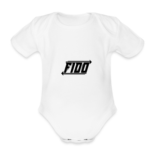 Fido - Simple - Kortærmet babybody, økologisk bomuld