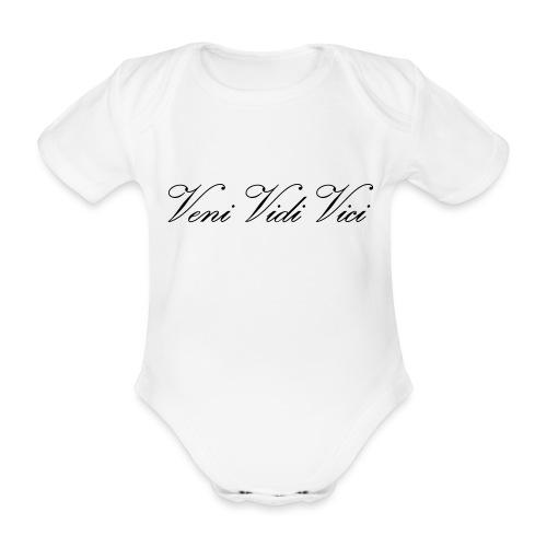 Veni Vidi Vici - Vauvan lyhythihainen luomu-body