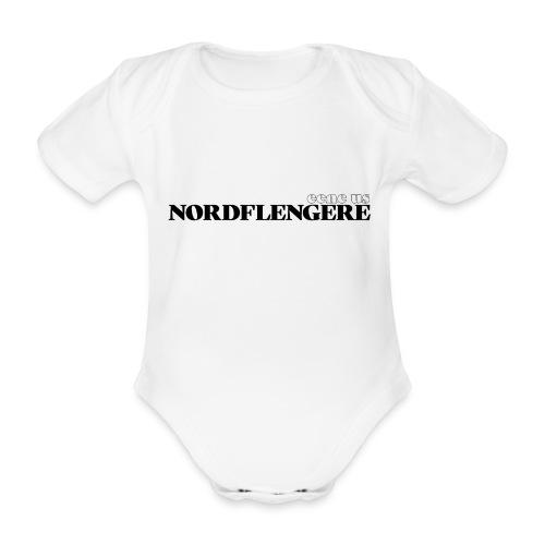 Een eus Nordflengere - Baby Bio-Kurzarm-Body