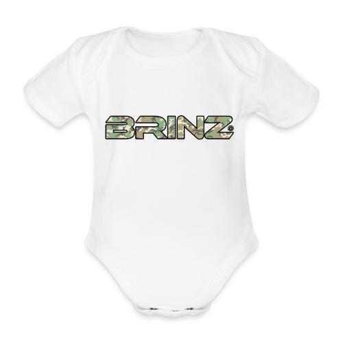 BRINZ Militare - Body ecologico per neonato a manica corta