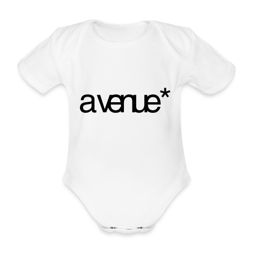 Logo AVenue1 80 - Baby bio-rompertje met korte mouwen