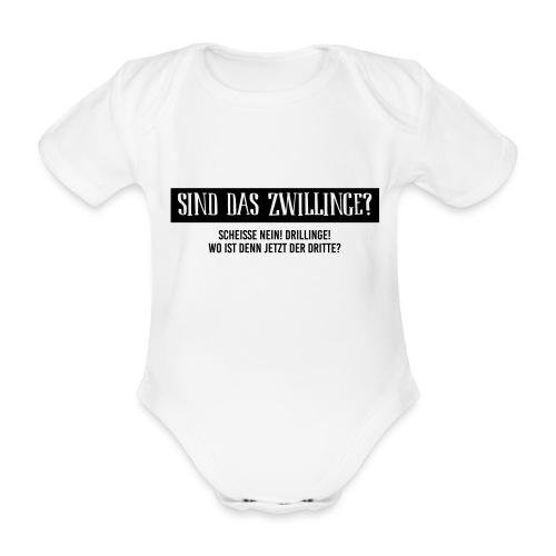 Sind das Zwillinge? - Baby Bio-Kurzarm-Body