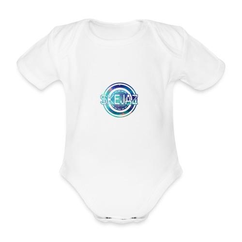 Official SKEJAZ Band Logo - Organic Short-sleeved Baby Bodysuit