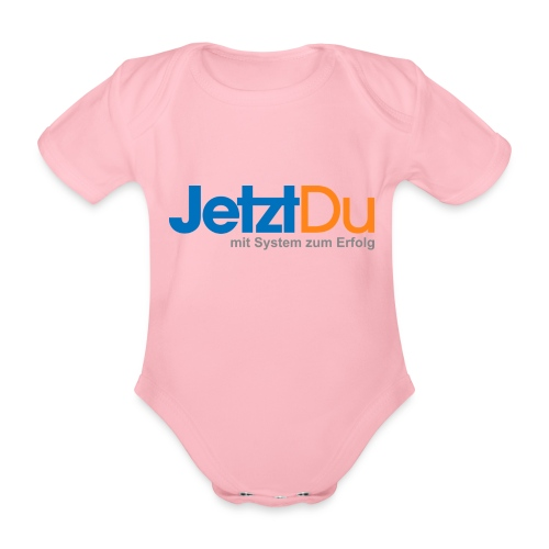 JetztDuLogo ArtWork1 - Baby Bio-Kurzarm-Body