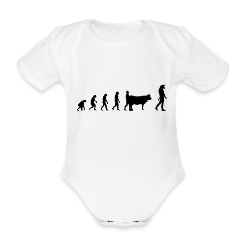 Evolution Mythologie - Body Bébé bio manches courtes