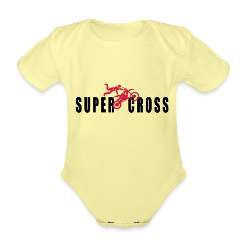 air Supercross - Body Bébé bio manches courtes