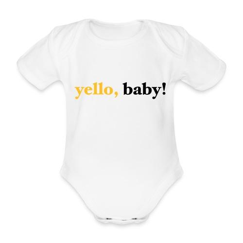 yello baby - Baby Bio-Kurzarm-Body