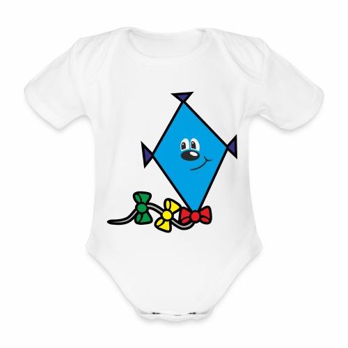 Drache - Baby Bio-Kurzarm-Body