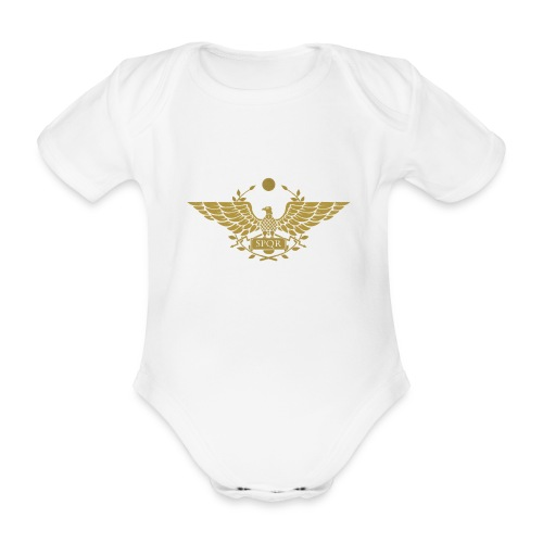 Orzeł SPQR | Eagle of SPQR - Ekologiczne body niemowlęce z krótkim rękawem
