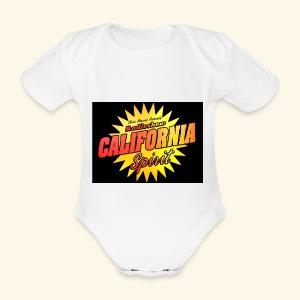 California Spirit Radioshow Vintage - Body bébé bio manches courtes