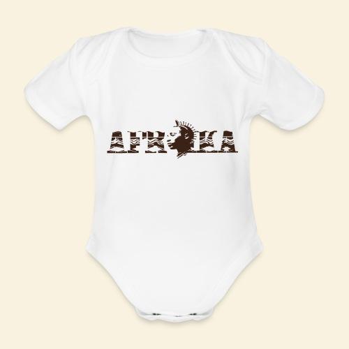 afrika - Body Bébé bio manches courtes