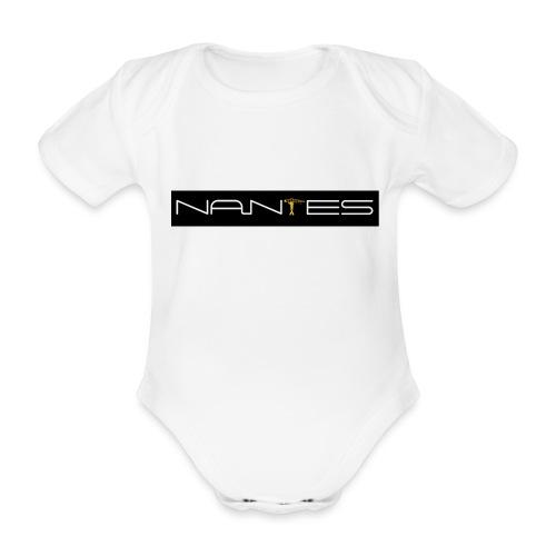 NanTes - Body Bébé bio manches courtes