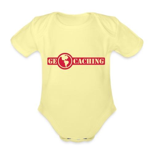 Geocaching - 1color - 2011 - Baby Bio-Kurzarm-Body