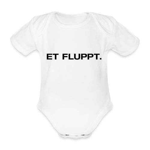 Et fluppt. - Baby Bio-Kurzarm-Body