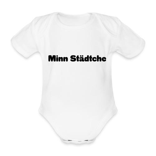 Minn Städtche - Baby Bio-Kurzarm-Body