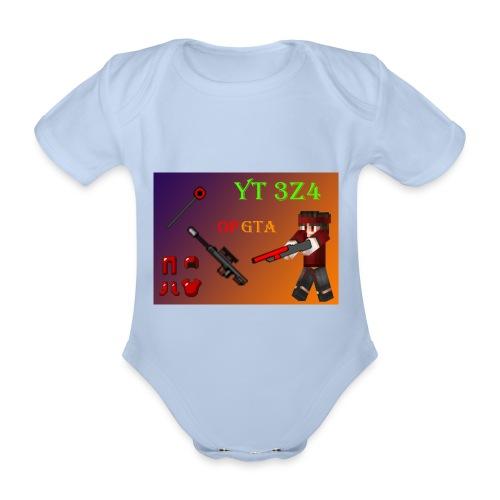 yt 3z4 - Vauvan lyhythihainen luomu-body