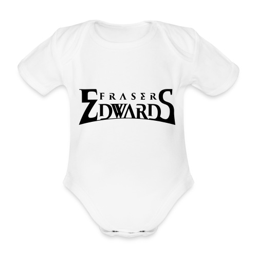 Fraser Edwards Men's Slim Fit T shirt - Organic Short-sleeved Baby Bodysuit