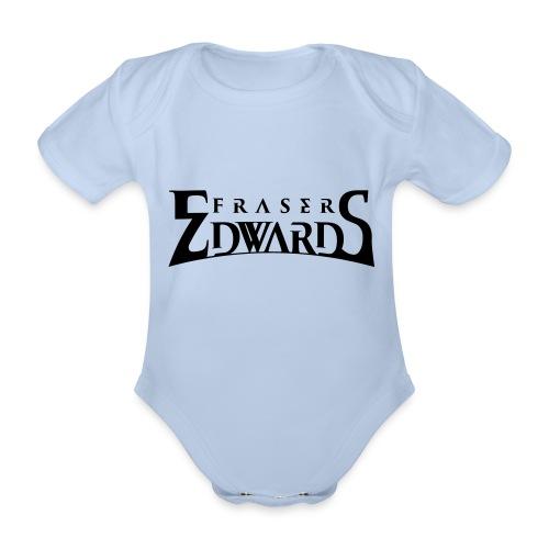Fraser Edwards Men's Slim Fit T shirt - Organic Short-sleeved Baby Bodysuit
