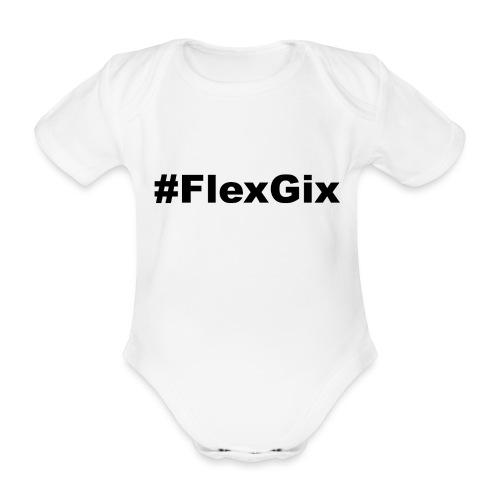 #FlexGix 1.1 - Baby Bio-Kurzarm-Body