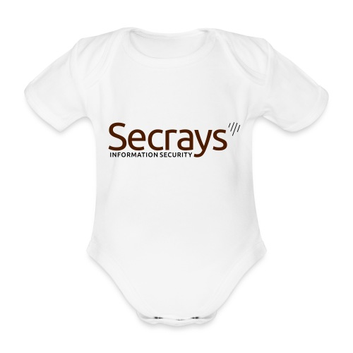 Secrays vektori logo - Vauvan lyhythihainen luomu-body
