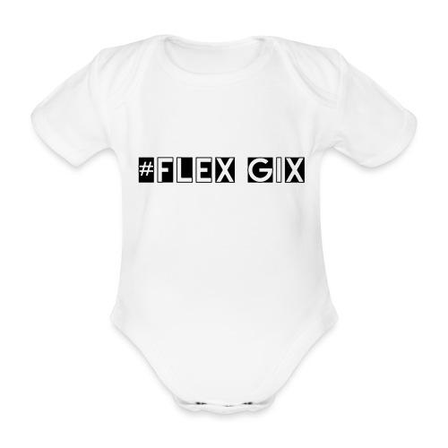 #Flex Gix 2.1 - Baby Bio-Kurzarm-Body