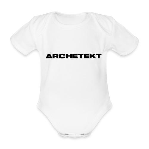 Archetekt - Baby Bio-Kurzarm-Body
