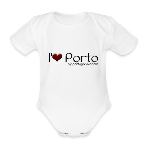 I Love Porto - Body Bébé bio manches courtes