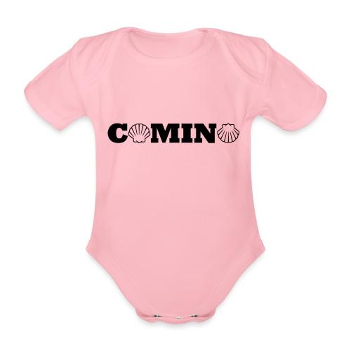 Camino - Kortærmet babybody, økologisk bomuld