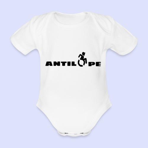 Antilope 003 - Baby bio-rompertje met korte mouwen