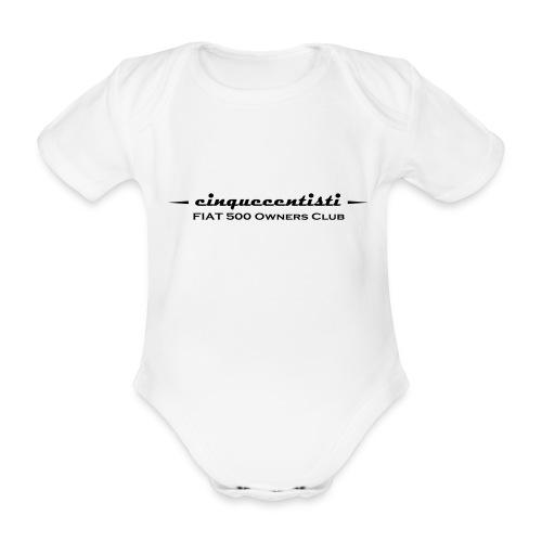 Cinquecentisti 500 Owners Club Vector - Body ecologico per neonato a manica corta