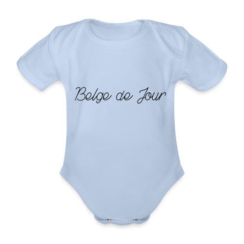 Belge de jour - Body Bébé bio manches courtes