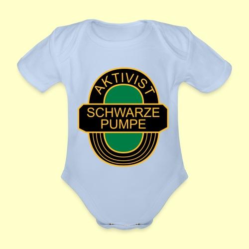 BSG Aktivist Schwarze Pumpe - Baby Bio-Kurzarm-Body