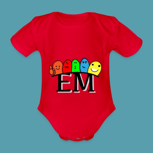 EM - Vauvan lyhythihainen luomu-body