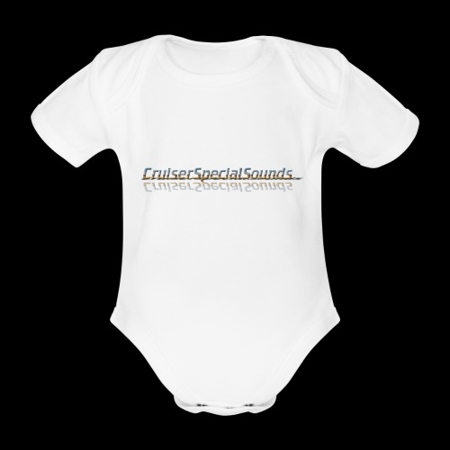 cruiserspecialsounds - Baby Bio-Kurzarm-Body