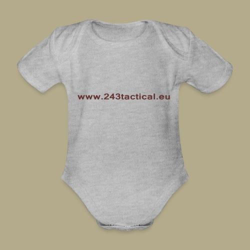 .243 Tactical Website - Baby bio-rompertje met korte mouwen