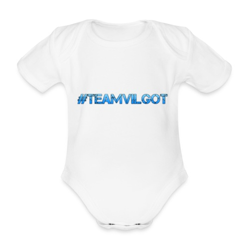 teamvilgot - Ekologisk kortärmad babybody